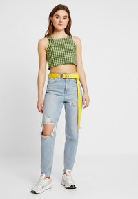 Topshop - Jeans Relaxed Fit - bleached denim - 1