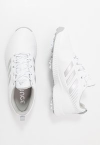 adidas Golf - RESPONSE BOUNCE 2 - Golf shoes - footwear white/silver metallic/grey two - 1