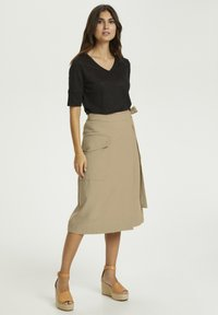 Part Two - Wrap skirt - beige - 1