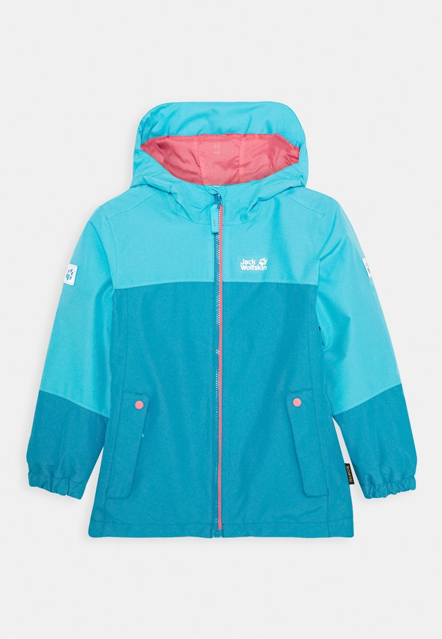 ICELAND 2-IN-1  - Outdoor jacket - atoll blue