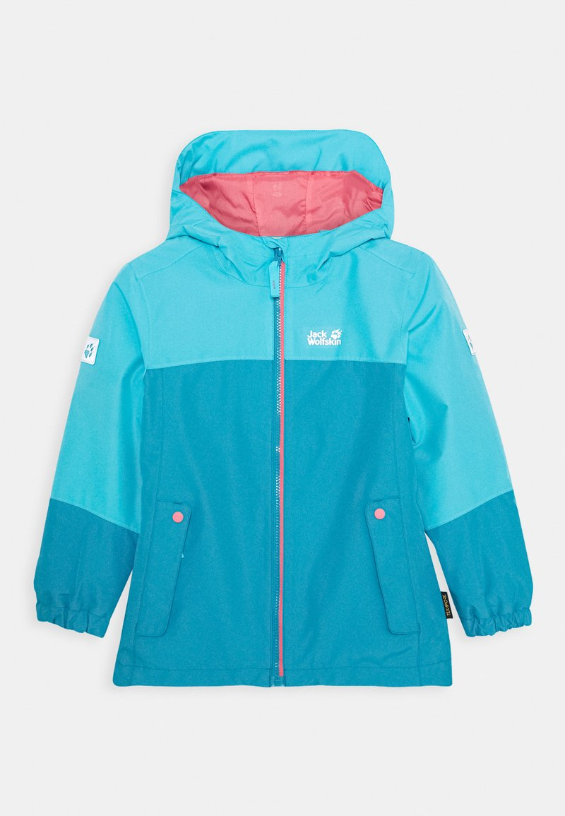 Jack Wolfskin - ICELAND 2-IN-1  - Outdoor jacket - atoll blue