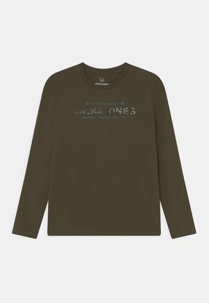 JCOTHAD TEE CREW NECK JR - Long sleeved top - forest night