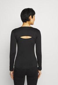 Trendyol - Long sleeved top - black - 2