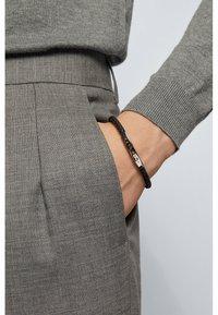 BOSS - BENN - Bracelet - dark grey - 0