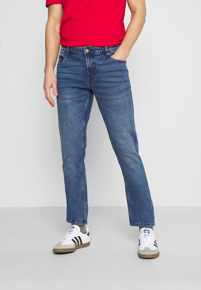 SDJOY BLUE 201 - Slim fit jeans - middle blue denim