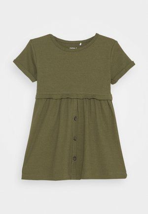 NMFRIBSA  - Vestido camisero - ivy green