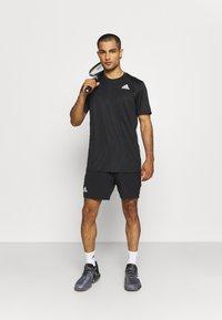 adidas Performance - ERGO SHORT - Sportovní kraťasy - black/white - 1