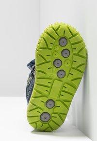 Lurchi - JAUFEN TEX - Winter boots - navy/green - 5