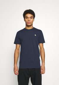 Cleptomanicx - GULL RIDER - Basic T-shirt - dark navy - 0