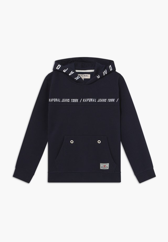 OSLO - Sweat à capuche - navy