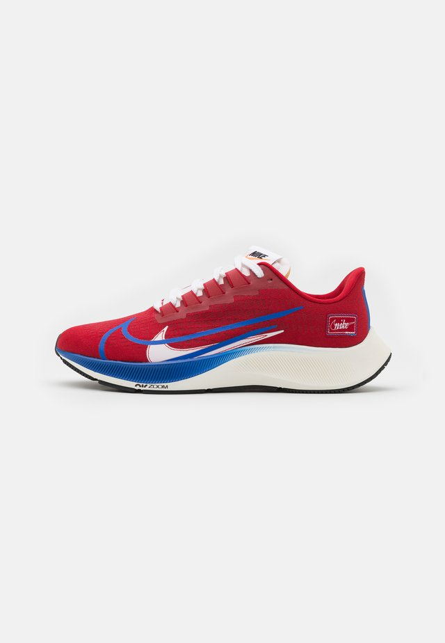 AIR ZOOM PEGASUS 37 PRM - Neutral running shoes - gym red/game royal/white/sail