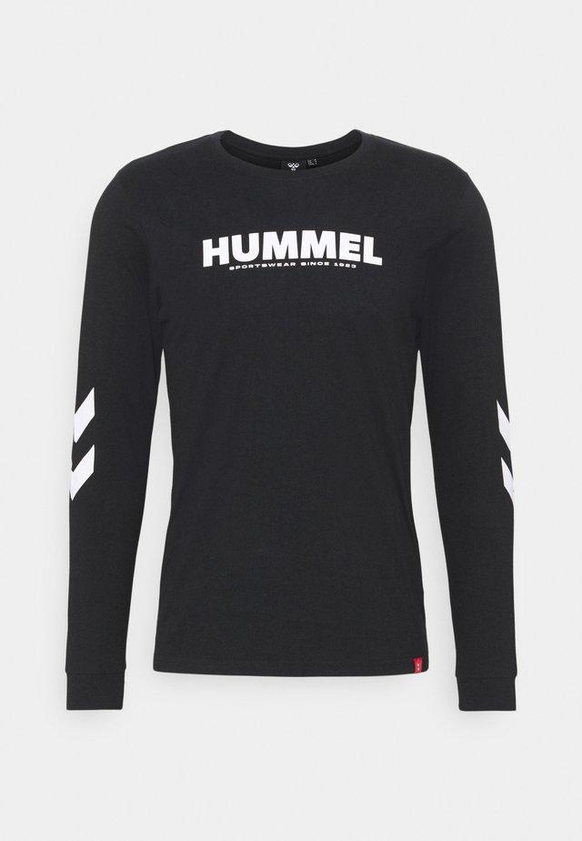 LEGACY - T-shirt à manches longues - black