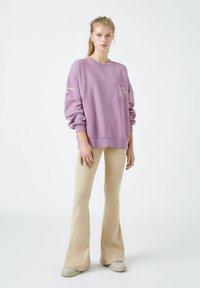 PULL&BEAR - Mikina - dark purple - 3