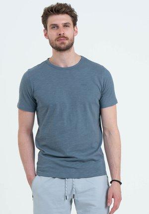 MT COOKIE - Basic T-shirt - flintstone blue