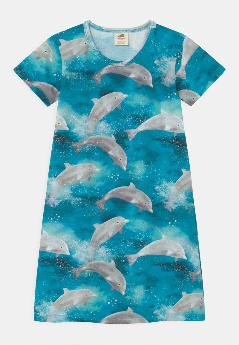 Walkiddy - HAPPY DOLPHINS - Noční košile - light blue