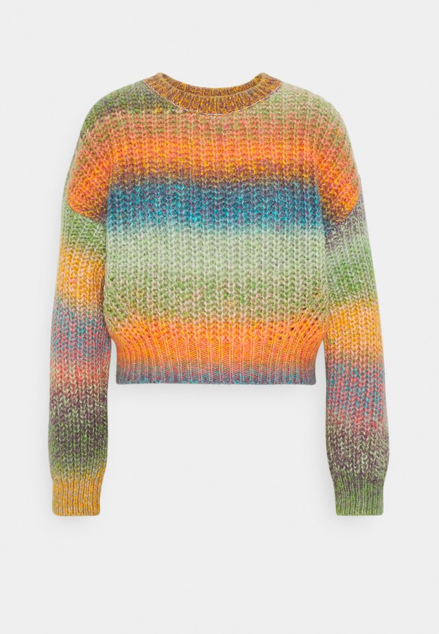 BALLOON SLEEVE JUMPER - Pullover - space dye multi