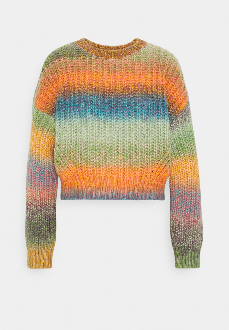 BDG Urban Outfitters - BALLOON SLEEVE JUMPER - Maglione - space dye multi