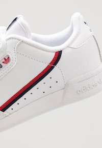 adidas Originals - CONTINENTAL 80  - Sneakers basse - footwear white/scarlet