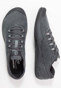 Merrell - VAPOR GLOVE 3 LUNA - Minimalist running shoes - granite - 1
