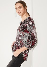 comma casual identity - 3/4 ARM - Blouse - red - 4