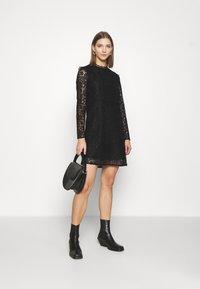 Vero Moda - VMBETTY DRESS - Cocktail dress / Party dress - black - 1