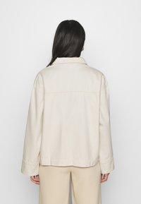 Monki - ROBYN JACKET - Denim jacket - white - 2