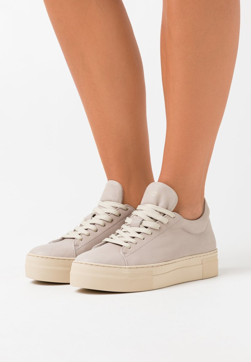 Selected Femme - SLFHAILEY TRAINER - Trainers - light gray