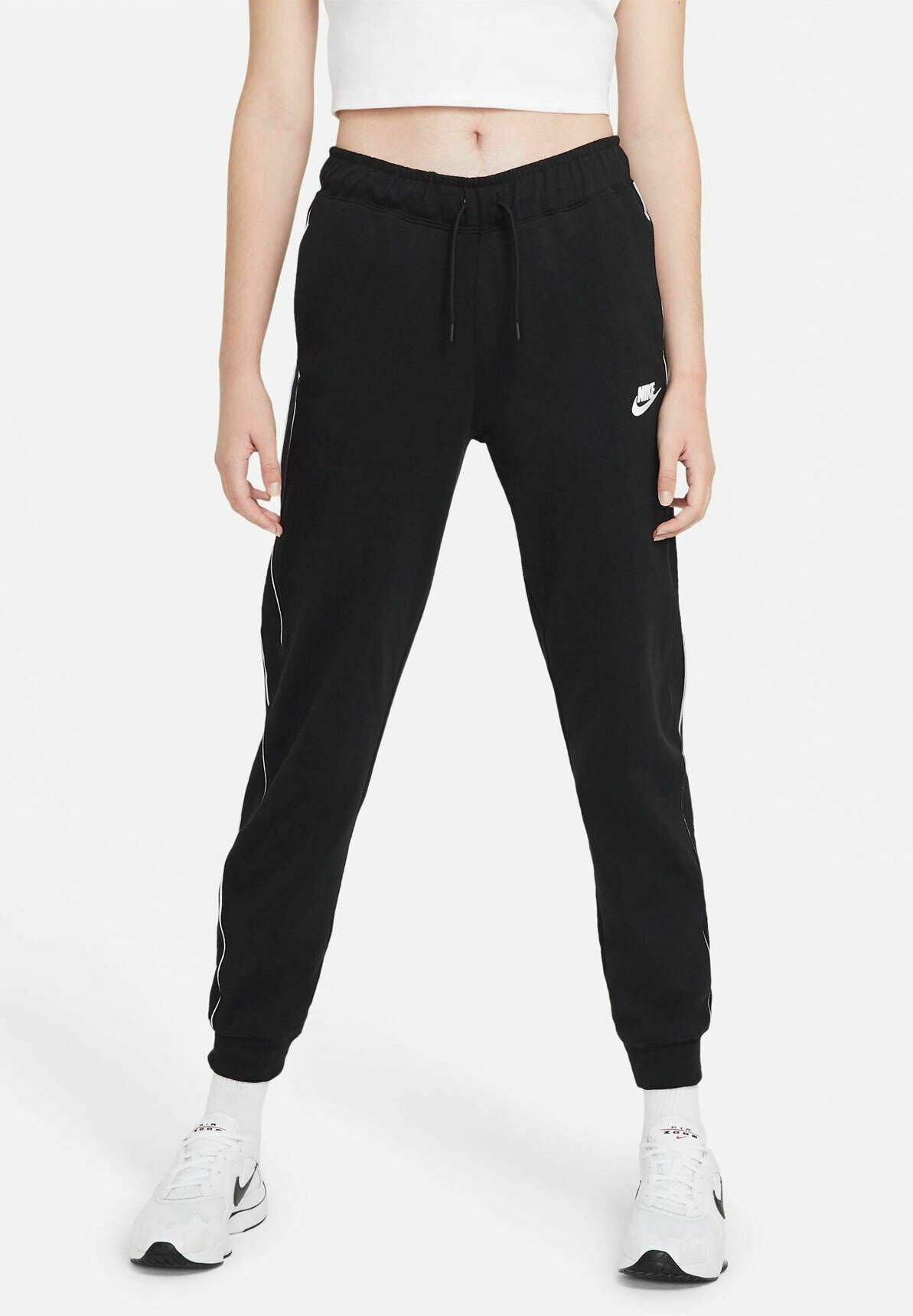 Femme Pantalon de survêtement - schwarz