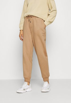 ONLHAILEY PANTS  - Tracksuit bottoms - burro