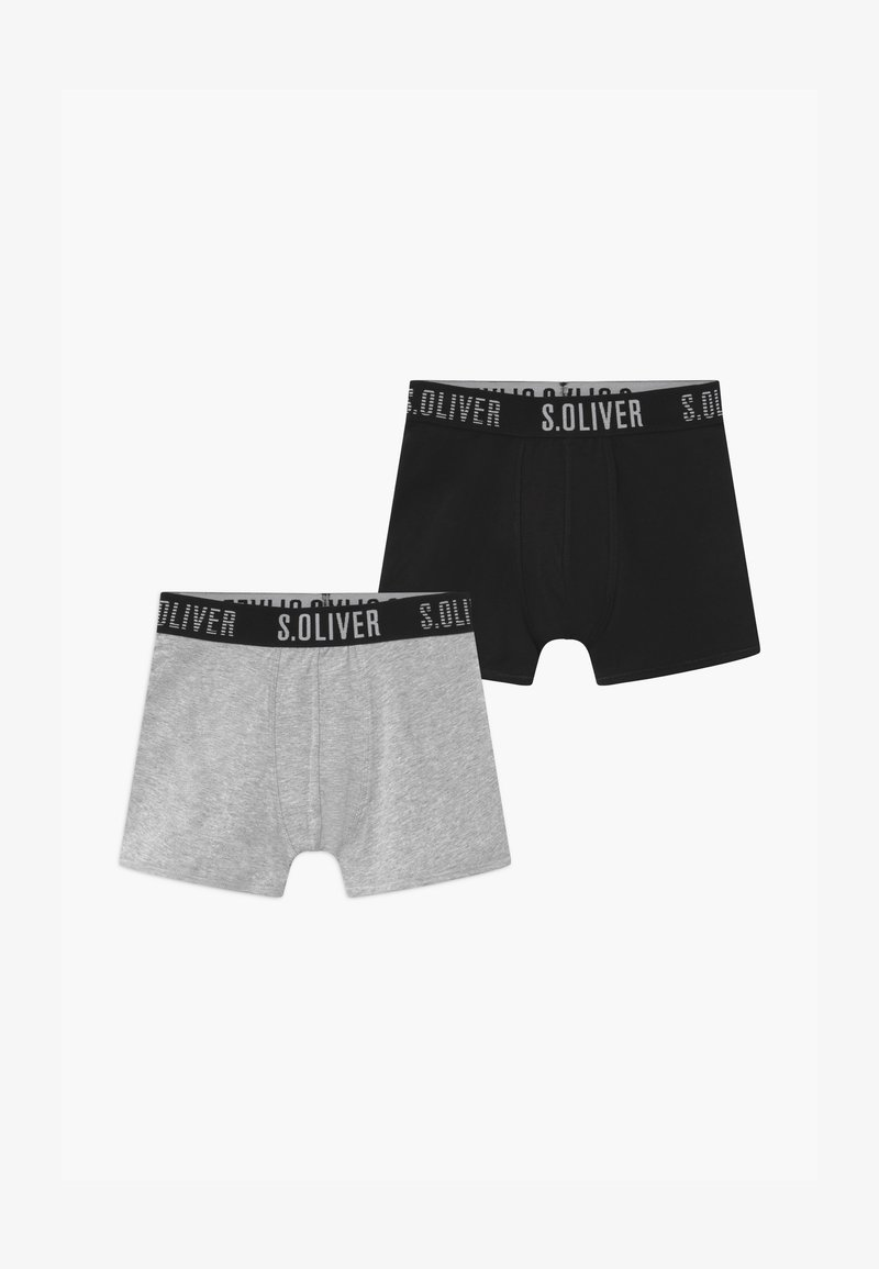 s.Oliver - 2 PACK - Pants - grey