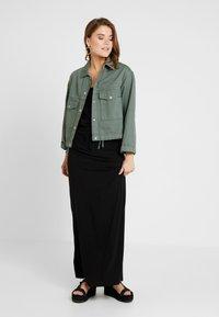Object - OBJSTEPHANIE MAXI DRESS  - Maxi dress - black - 1