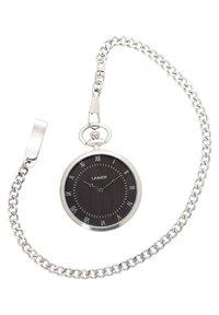 LAIMER - LAIMER QUARZ HOLZUHR - ANALOGE TASCHENUHR SANDELHOLZ - Watch - silver - 0
