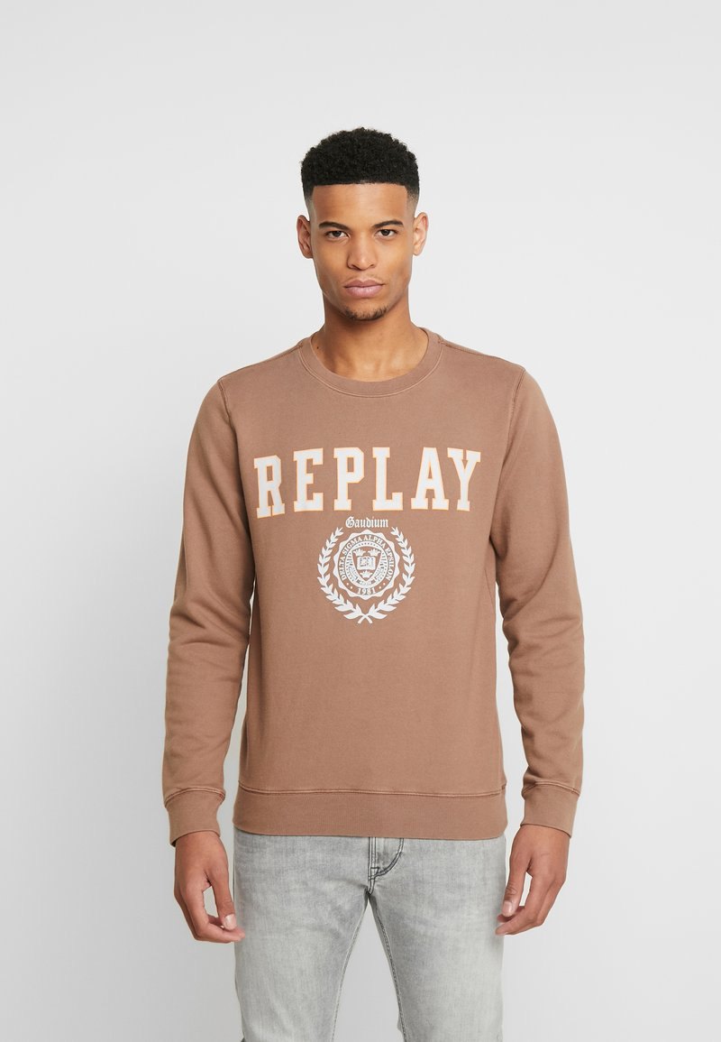 Replay - Felpa - brown