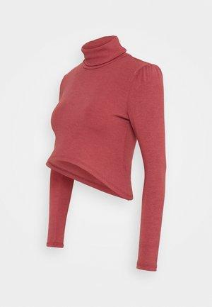 LADIES  - Long sleeved top - burnt orange