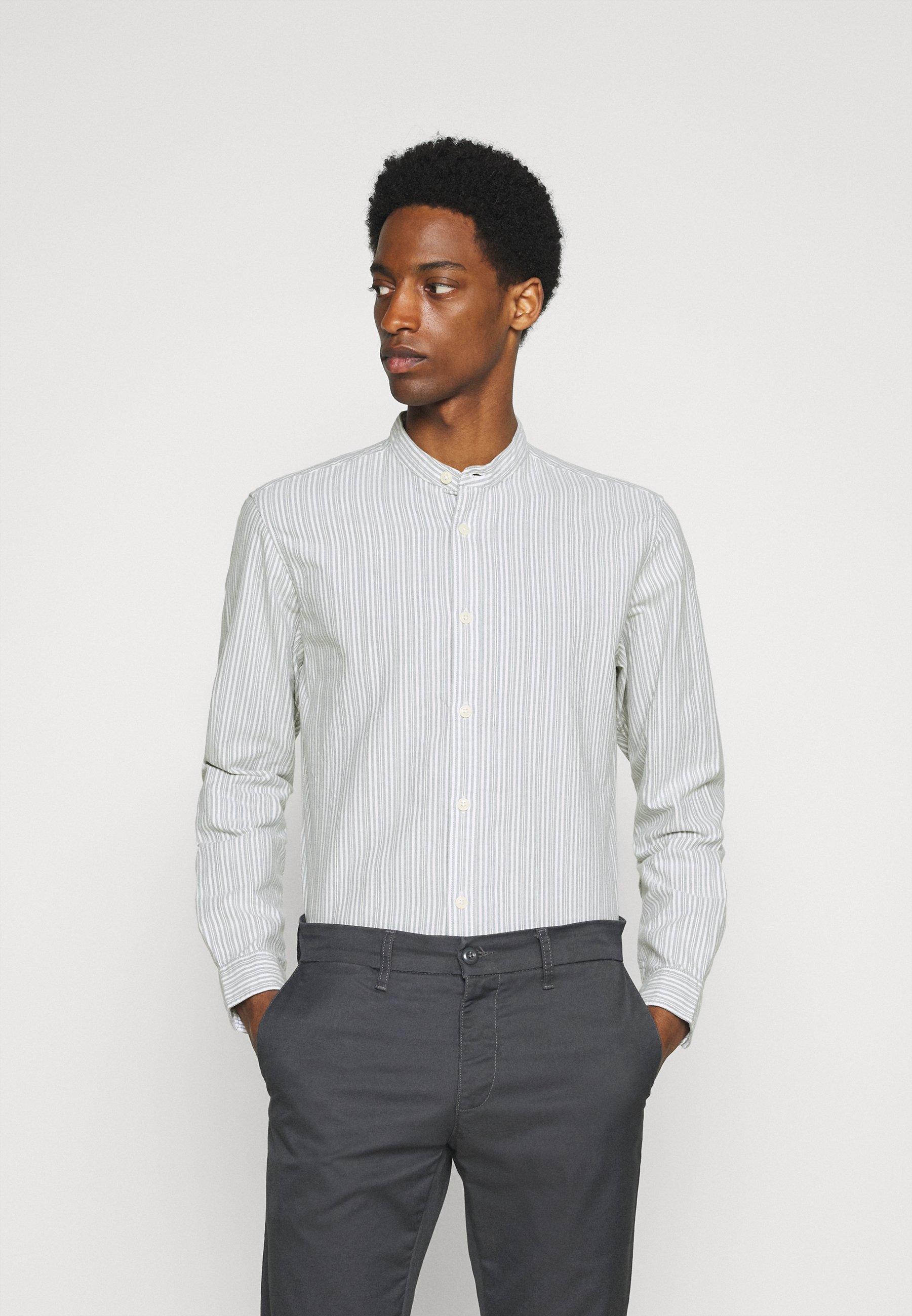 Men SLHSLIMMILTON STRIPES - Formal shirt