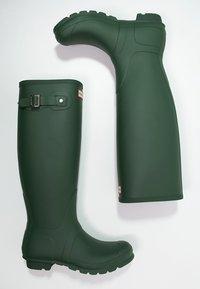 Hunter ORIGINAL - ORIGINAL TALL VEGAN - Wellies - Wellies - green - 3