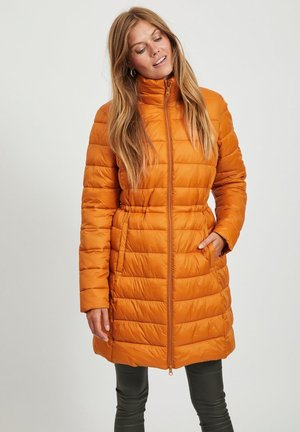 Winter coat - pumpkin spice