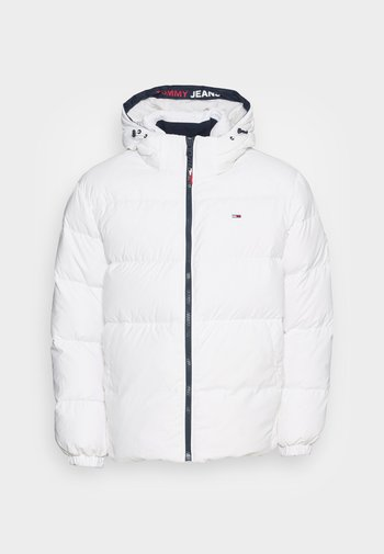 ESSENTIAL JACKET - Down jacket - white
