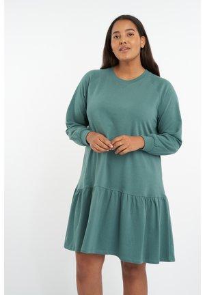 MET RUFFLES - Jumper dress - mint