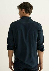 Massimo Dutti - SLIM FIT - Shirt - blue - 1