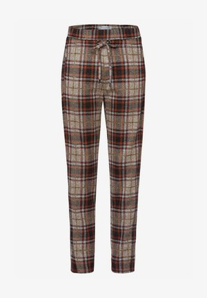 PEGGY - Trousers - terracotta