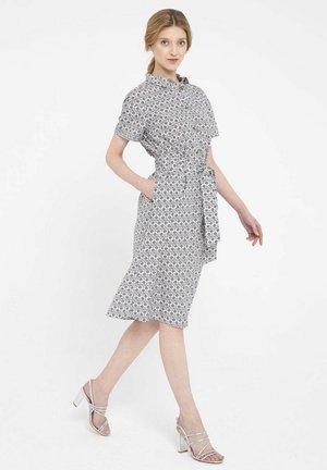 Sukienka koszulowa - szary
