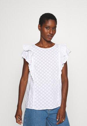 Blouse - fresh white
