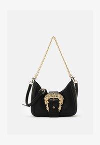 Versace Jeans Couture - BUCKLE SHOULDER BAG - Taška spříčným popruhem - nero - 3
