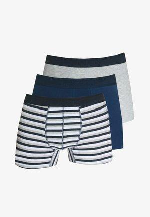Pants - blau/grau