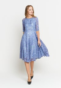 Madam-T - GLORIA - Day dress - indigo - 1