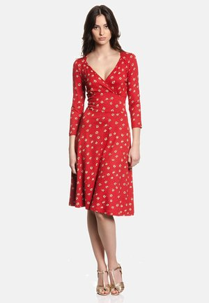 MARIE IN LOVE  - Day dress - rot allover