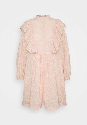 ELISE - Skjortekjole - rose dust