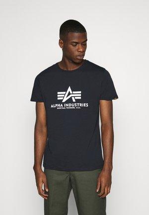 BASIC REFLECTIVE - T-shirt z nadrukiem - blue