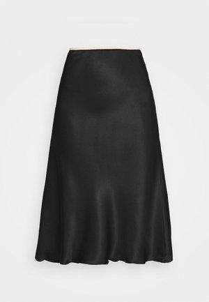 GONNA  - Áčková sukně - nero